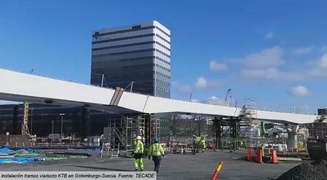 Instalación puente Hisingsbron